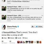 Diana Penty KRK tweet