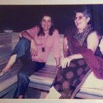 Farah Khan with her mother, Menaka Irani