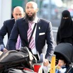 Hashim Amla with his family