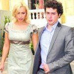 Iulia Vantur with Marius Mago