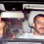 Iulia Vantur with Salman Khan