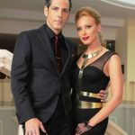 Iulia Vantur with Stefan Banica Jr.
