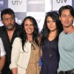 Jackie Shroff with his family