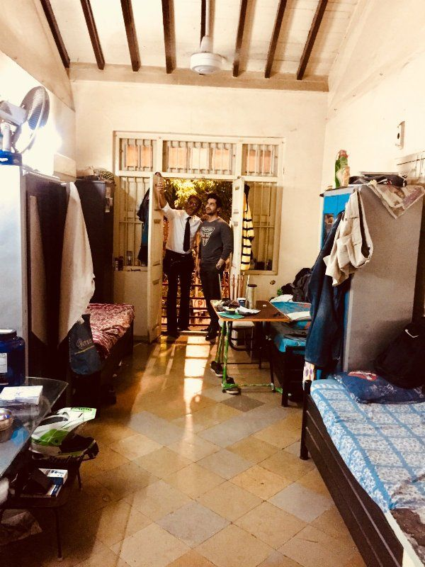 Jackie shows around his childhood home to Arjan Bajwa