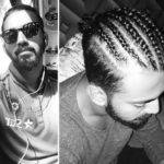 KL Rahul long hair