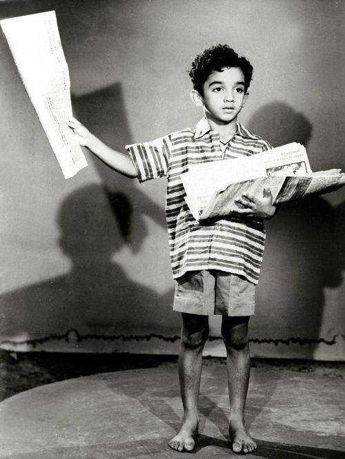 Kamal Haasan as a child actor