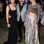 Kamal Haasan with his daughters