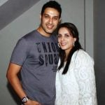 Khalid Siddiqui with his Ex-wife Raahat