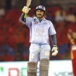 Manoj Tiwari plyaing cricket in CCL