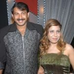 Manoj Tiwari with his Ex-wife
