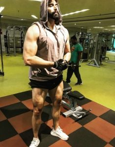Nikitin Dheer at Gym