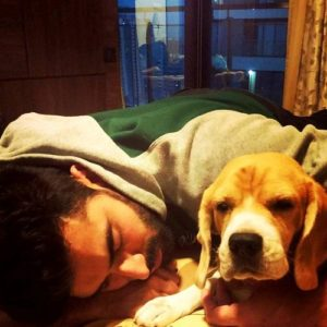 Nikitin Dheer loves dogs