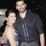 Nikitin Dheer with his wife Kratika Sengar