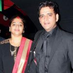 Ravi Kishan with his wife