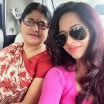 Roshni Rastogi with her mother