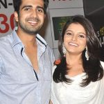 Avinash Sachdev with his ex-girlfriend Rubina Dilaik