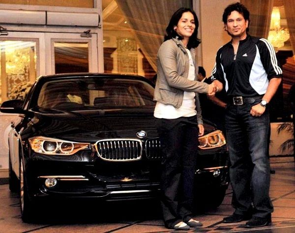 Sachin Tendulkar gifted BMW to Saina Nehwal