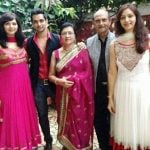 Shakti Arora with his family