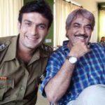 Shivaji Satam with his son Abhijeet