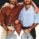 Aditya Chopra with his brother and father
