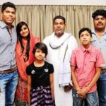 Umesh Yadav with his family