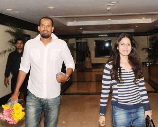 Afreen Khan With Her Husband Yusuf Pathan