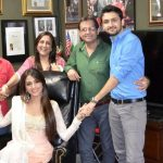 Aarti Chabria with her family