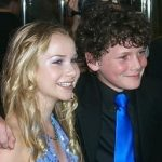 Anton Yelchin with his Girlfriend Mika Boorem