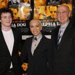 Anton Yelchin with his parents