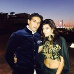 Archana Vijaya with her husband