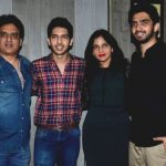 Armaan Malik with his family