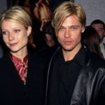 Brad Pitt with Gwyneth Paltrow