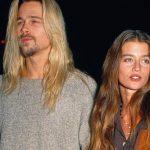 Brad Pitt with Jitka Pohlodek