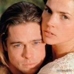 Brad Pitt with Julia Ormond