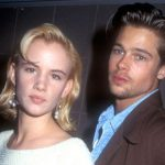 Brad Pitt with Juliette Lewis