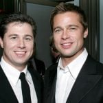 Brad Pitt with his brother Doug Pitt