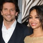 Bradley Cooper with his Ex-girlfriend Zoe Saldana