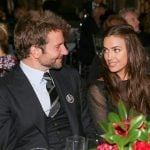 Bradley Cooper with his girlfriend Irina Shayk