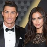 Cristiano Ronaldo with his Ex-girlfriend Irina Shayk