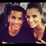 Cristiano Ronaldo with his Ex-girlfriend Lucia Villalon