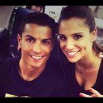 Cristiano Ronaldo with his Ex-girlfriend Lucia Villalon