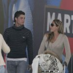 Cristiano Ronaldo with his Ex-girlfriend Marche Romero