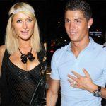 Cristiano Ronaldo with his Ex-girlfriend Paris Hilton