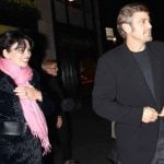 George Clooney with his Ex-girlfriend Karen Duffy