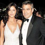 George Clooney with his Ex-girlfriend Lisa Snowdon
