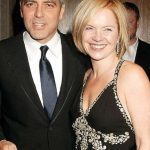 George Clooney with his Ex-girlfriend Mariella Frostrup