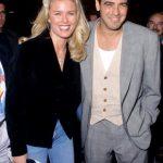 George Clooney with his Ex-girlfriend Vendela Kirsebom