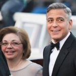 George Clooney with his sister Adelia