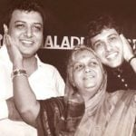 Govinda With His Mother And Brother