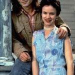 Johnny Depp with his girlfriend Juliette Lewis